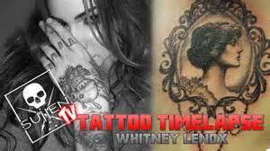 tattoo time lapse whitney lenox tattoos vintage mirror