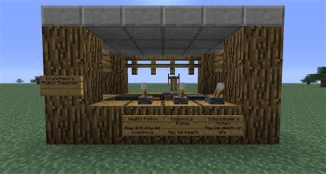 build a shop potion shop ideas discussion minecraft java edition