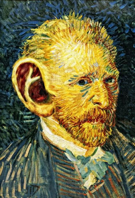 van goghs ear the 1784702226 van gogh s ear painted by van gogh in 1888 grotesque of the human face and head