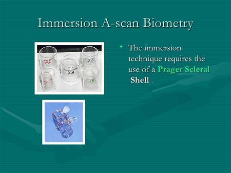 A Scan Biometry high precision biometry