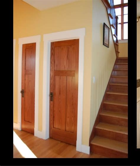 wood doors white trim white trim wood doors for the home