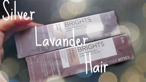 ion color brilliance brights dying my hair silver lavander ion color brilliance