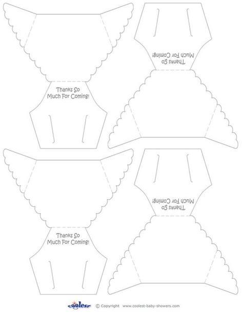 diaper template for baby shower game diy diaper invitation template printable baby diaper