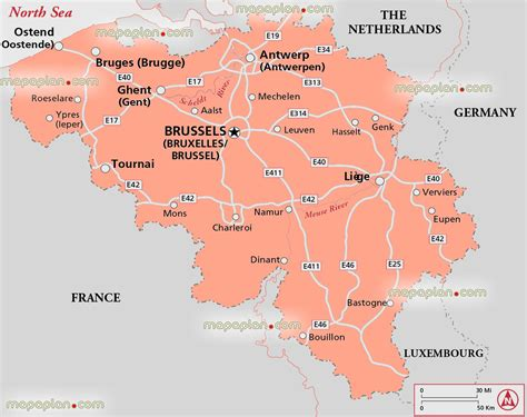 belgium in the map maps update 12001337 brussels tourist map 14 toprated