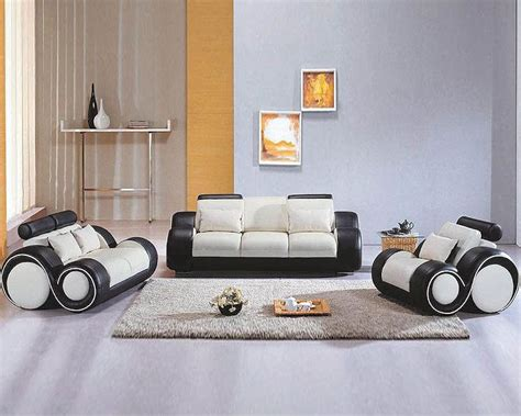 black and white sofa set contemporary black and white sofa set 44l4088