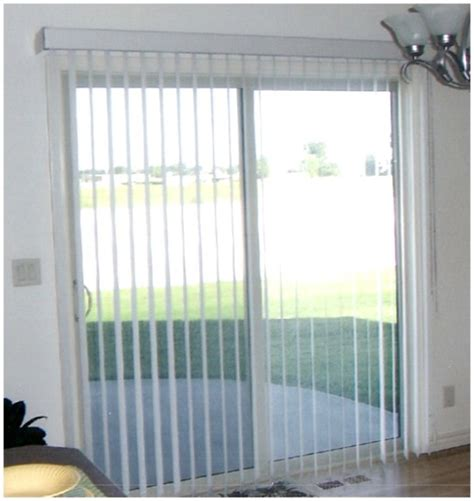Vertical Blinds For Patio Door 20 Benefits Of Sliding Patio Doors Interior Exterior Ideas