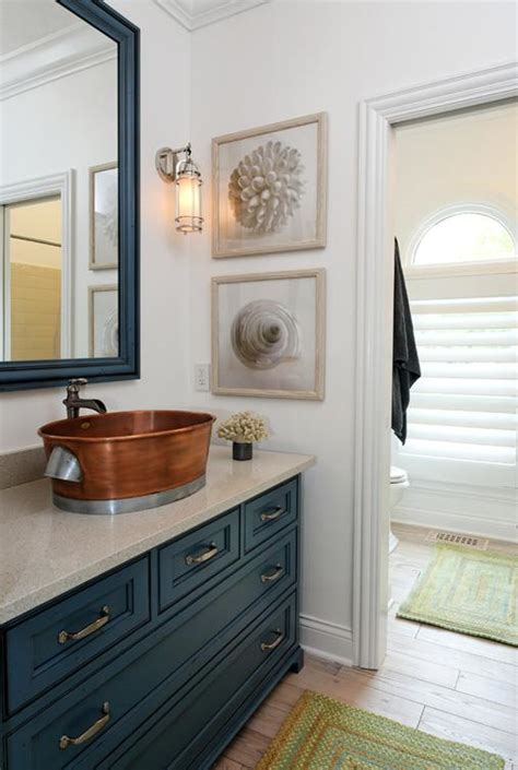 Coastal Bathroom Designs by Delorme Designs Nautical Bathrooms