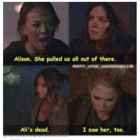 The Are Alive For A Fourth Season by Alison Is Alive In Pll Season 4 Alison Delaurentis Photo