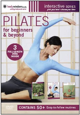 Senam Fitness For Begginers Beyond For Stress pilates for beginners beyond 3 dvd set collage