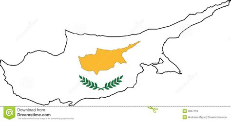 cyprus map vector map cyprus vector royalty free stock images image 3657119