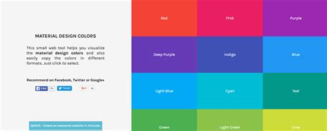 material design color schemes 10 material design color palette generators