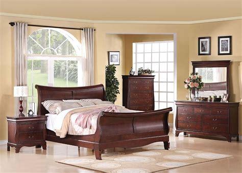 4 pc acme verona sleigh bedroom set