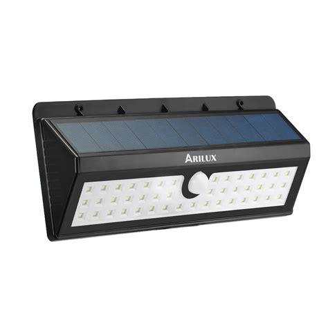 Led Pir Lights Outdoor Arilux 174 Al Sl03 Solar Powered 44 Led Pir Motion Sensor Light Outdoor Waterproof Ip65 Wall L