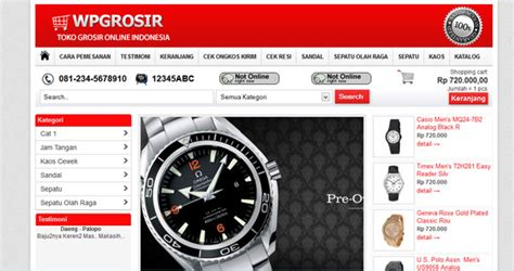 theme toko online simple theme toko online wordpress demo2 jasa pembuatan blog