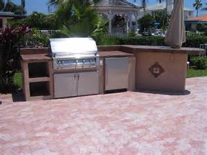 outdoor kitchen island designs custom built in barbecue home garden design