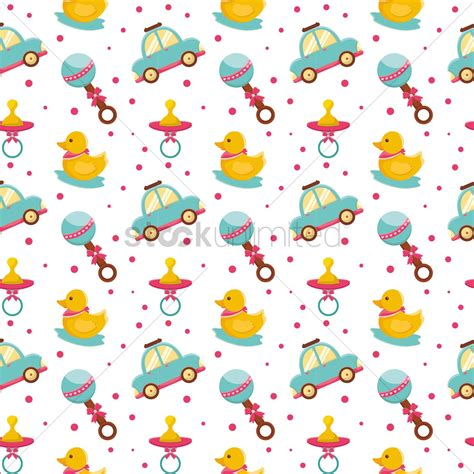 baby background free baby toys background vector image 1293138