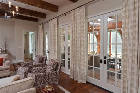 curtains ideas for family room french door curtains dining room contemporary with drum