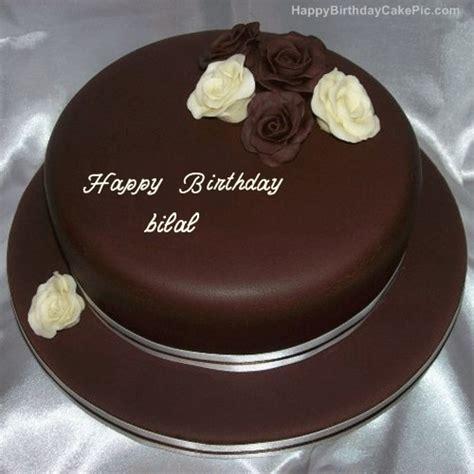 rose chocolate birthday cake for bilal