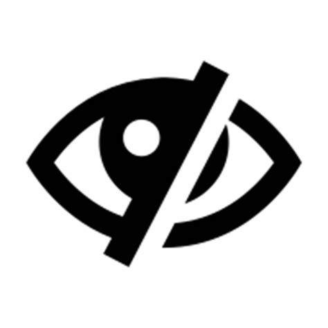 Blind Eye Blind Icons Noun Project