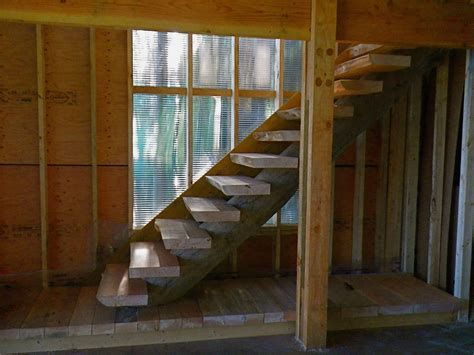how to build stairs in a small space jonker custom building portfolio nanaimo and gulf islands bc