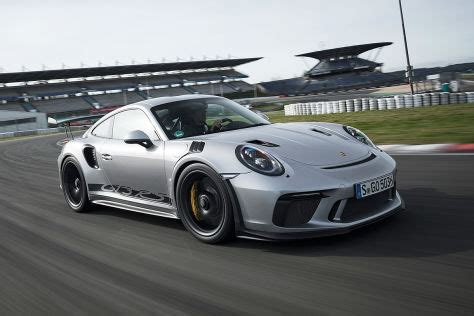 Preis Porsche Gt3 by Porsche 911 Gt3 Rs 991 2 Facelift 2018 Test Bilder