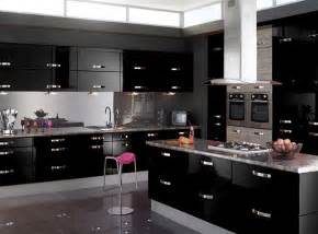 black gloss kitchen ideas 2016