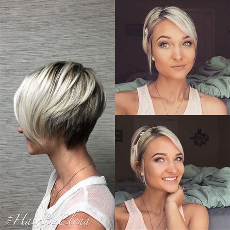 Coupes Courtes Et Couleurs Sublimes Pour Cheveux Courts Coiffure Simple Et Facile