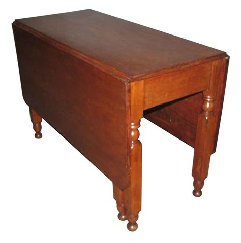 Cherry Drop Leaf Table American Style Cherry Drop Leaf Table Olde Things