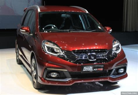 Lu Led Mobilio Rs honda mobilio rs range topper launched in indonesia