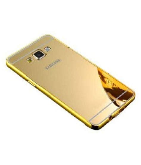 Mirror Samsung A5 2016 A510 Aluminum Bumper luxury mirror effect acrylic back metal bumper cover for samsung galaxy a5 2016 a510