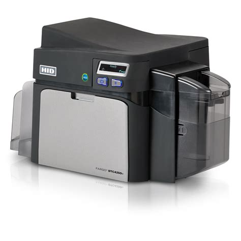 template card hid printer hid 174 fargo 174 dtc4250e id card printer encoder badge
