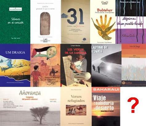 libro llora alegria autores espanoles literatura saharaui en espa 241 ol quot l 225 grimas de alegr 237 a quot haz lo que debas conx