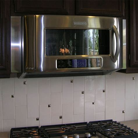 Range Hood Accessories   Imperial Microwave Filler Kit in Various Finishes   KitchenSource.com