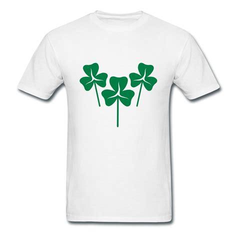 design t shirt ireland 2014 style 100 cotton tee shirt men trio shamrock ireland