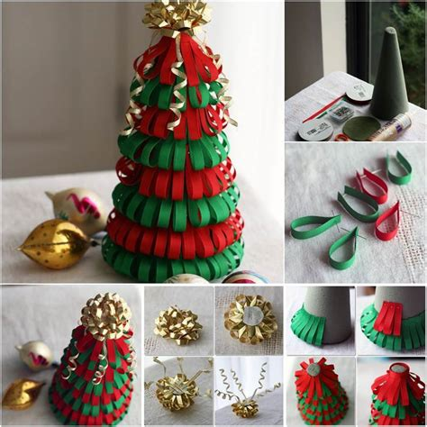 creative ideas diy ribbon christmas tree