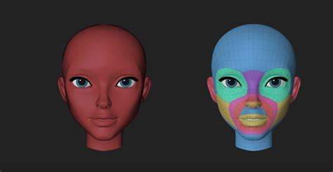 tutorial zbrush cartoon how to retopologize a head in zbrush cg tutorial