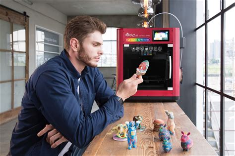3d color printer xyzprinting combines inkjet and fdm the da vinci color 3d