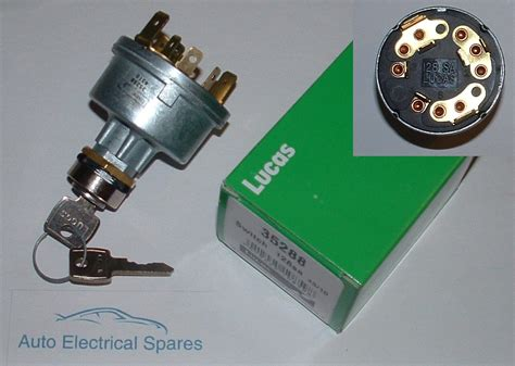 lucas 35288 128sa ignition switch lock and
