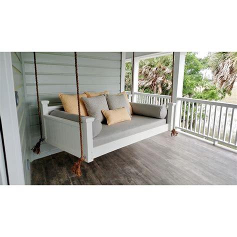 hanging porch bed swings custom carolina hanging beds southern savannah porch swing