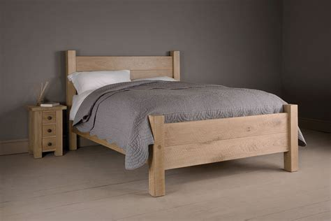 Oak Bed by The Miller S Oak Bed Handcrafted By Indigo Furniture