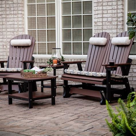 Casual Patio Furniture by Comfo Back Glider