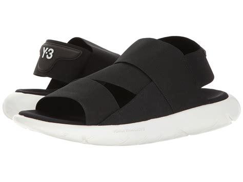y 3 sandals adidas y 3 by yohji yamamoto y 3 qasa sandal at zappos
