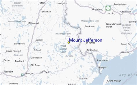 map of jefferson mount jefferson ski resort guide location map mount
