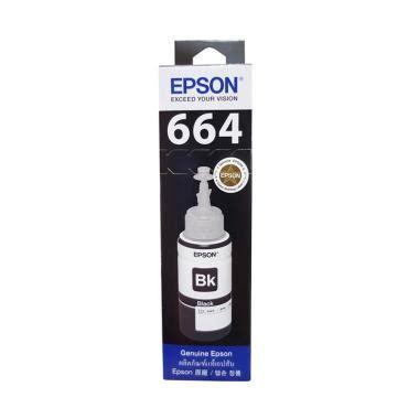 Tinta Epson 664 Original Black jual harga tinta epson l220 terbaru harga murah blibli