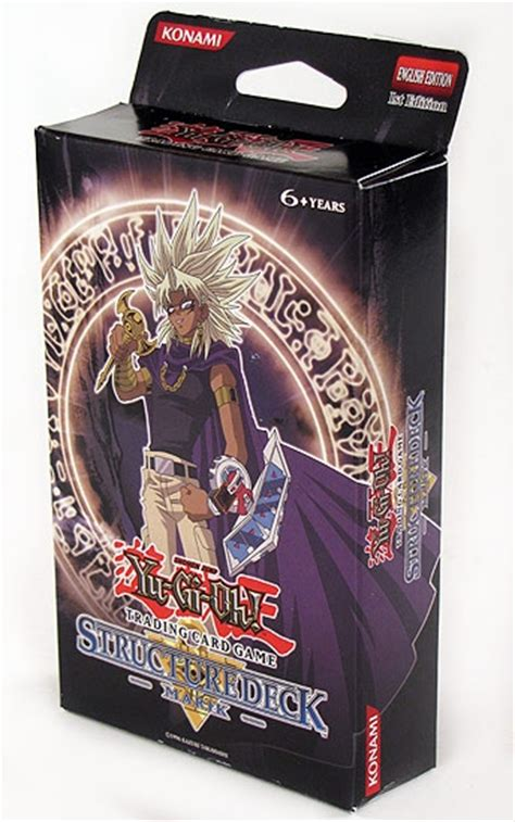 yugioh structure deck marik yu gi oh marik structure deck da card world