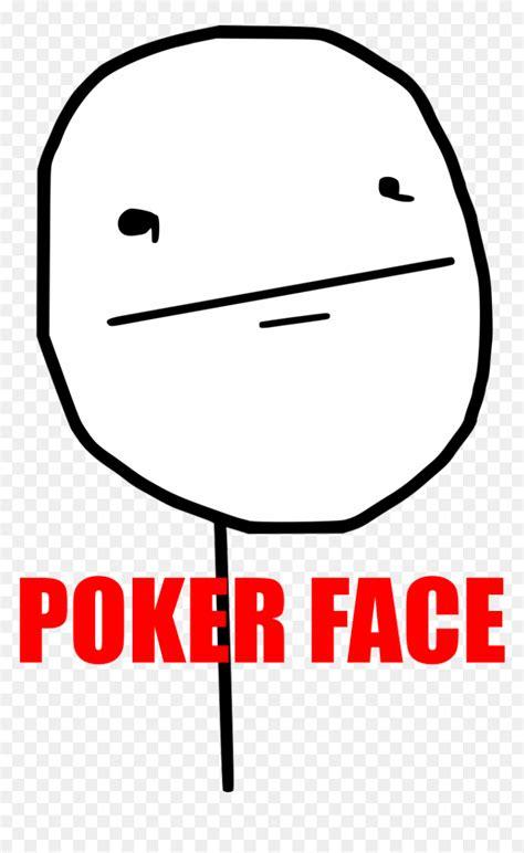 thumb image poker face meme hd png