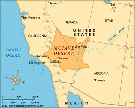 map us deserts mojave desert encyclopedia children s homework