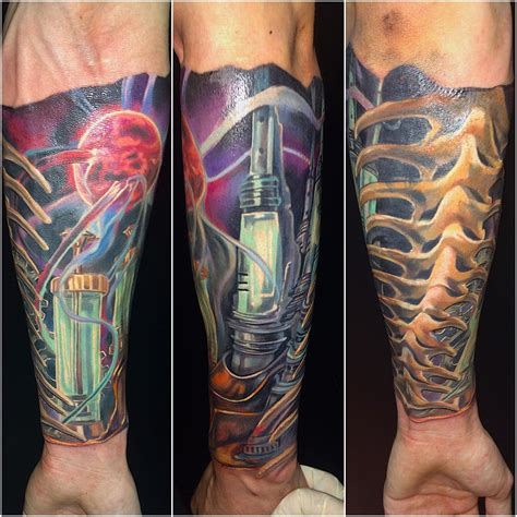 tattoos biomechanical designs 55 best photo patterns of biomechanical tattoos