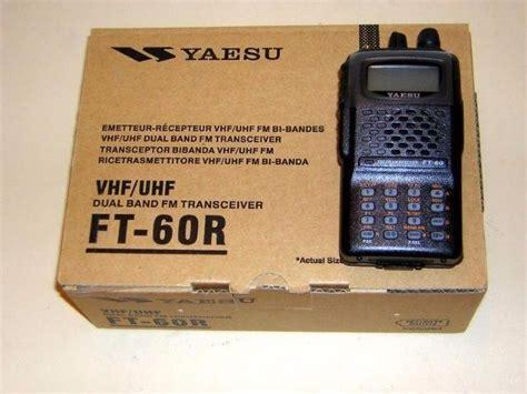 Radio Yaesu Ft 60r Dual Band yaesu ft 60r ht dual band vhf uhf radioamador pm