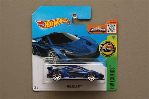 imagenes hot wheels 2016 hot wheels 2016 hw exotics mclaren p1 blue